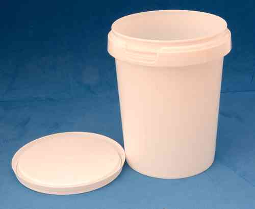 520ml White Round Tamper Proof Tub with Lid