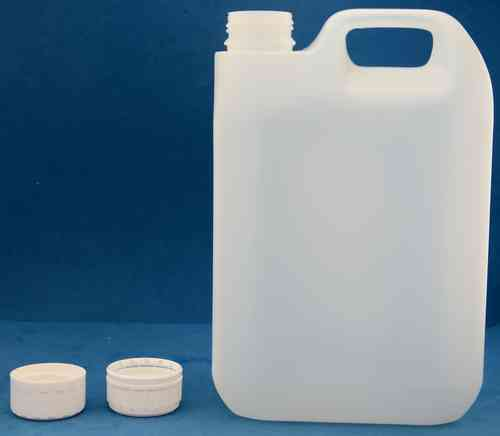 2500ml Plastic Jerrycan with 38mm Wadded Screw Cap