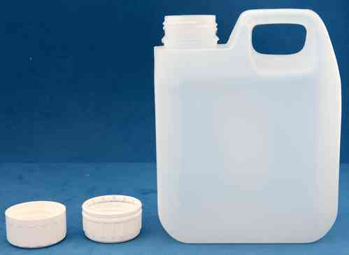 1000ml Plastic Jerrycan with 38mm Tamper Evident Screw Cap
