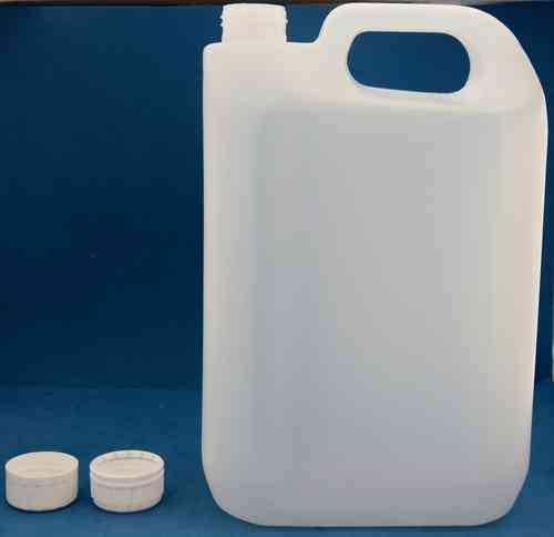 5000ml Plastic Jerrycan with 38mm Tamper Evident Screw Cap