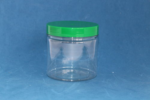250ml Round Jar with Green Cap