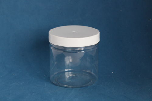 250ml Round Jar with White Cap