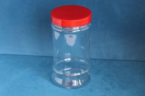 500ml Victorian Style Jar with Red Screw Cap