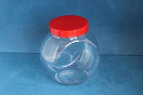 650ml Spherical Jar with Red Screw Cap