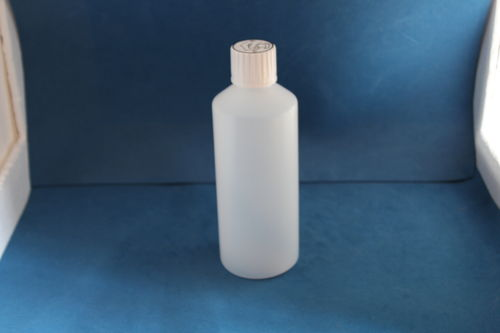 500ml Natural Plastic Bottle with 28mm Click Lock Cap