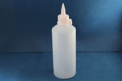 500ml Natural Plastic Bottle with 28mm Wide Spout Cap