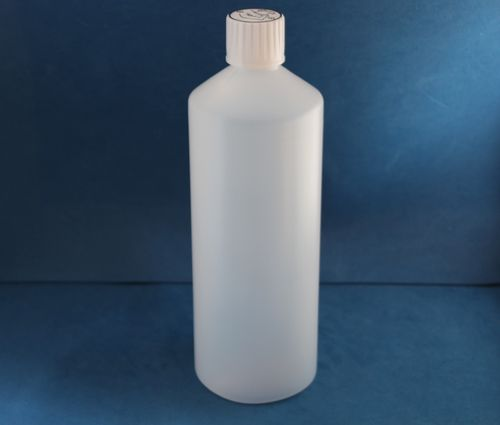 1000ml Natural Plastic Bottle with 28mm Click Lock Cap
